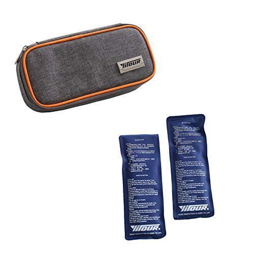 Zinnor portable insulin cooler case for diabetic organizer