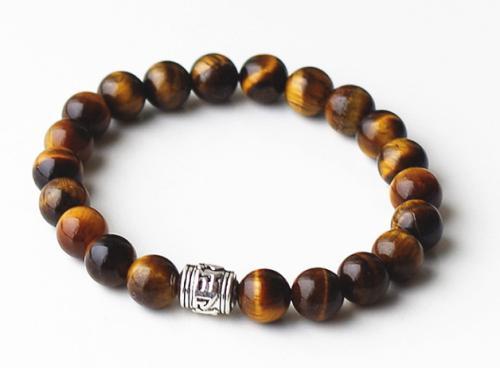 AA+ Tigerseye 8mm Stretch Bracelet