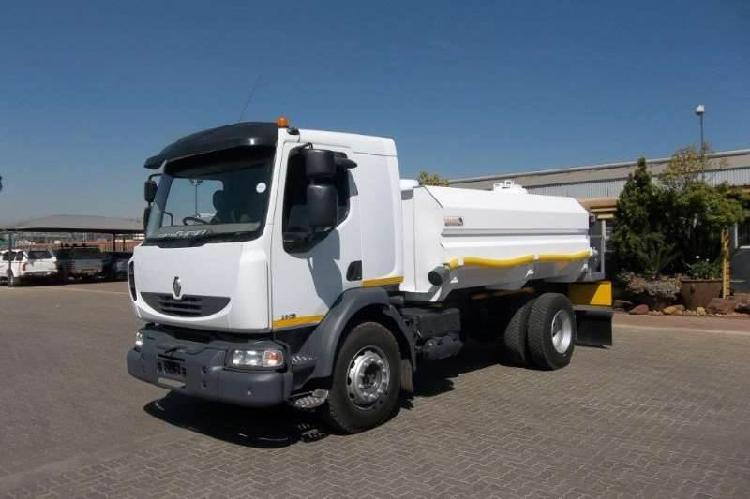 Renault MIDLUM 280 9000L WATERBOWSER HYDRAULICK - South