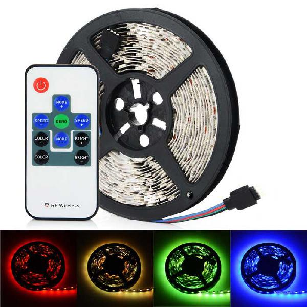 5m rgb led stipe light with remote control