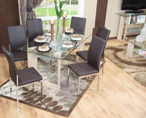 Dining suite / dinette set (7 piece)