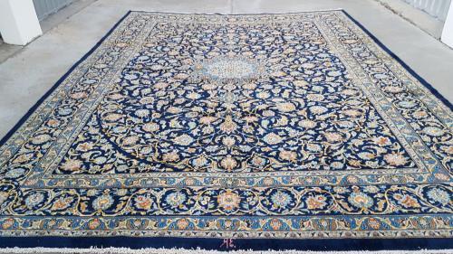 Extra large persian najafabad carpet 468cm x 353cm hand