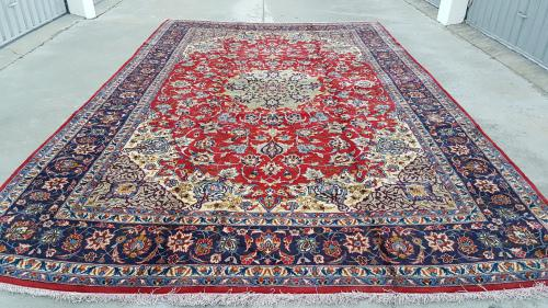 Extra Large Persian Najafabad Carpet 505cm x 308cm Hand