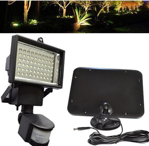 Solar light outdoor floodlight with motion sensor waterproof