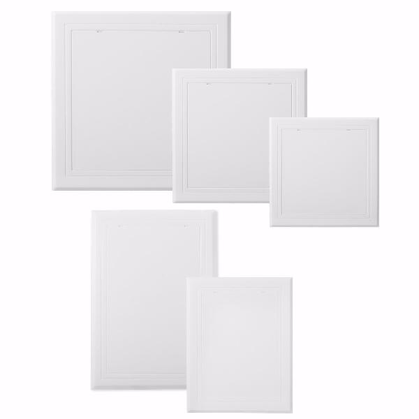White abs plastic access panel inspection door revision