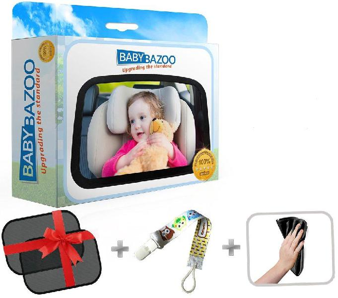 Baby back seat car mirror | wide clear view infant rear