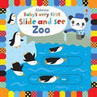 Baby's very first: slide and see zoo (board book)