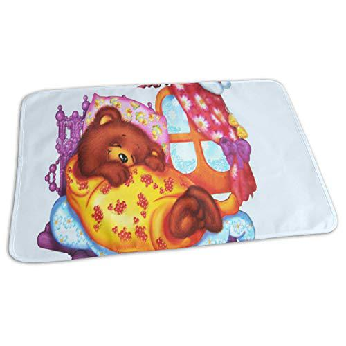 Changing pad sleeping bear baby diaper urine pad mat great