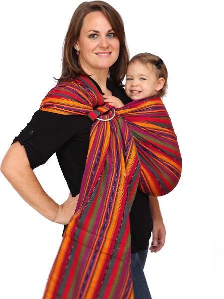 Maya wrap comfortfit ring sling & baby carrier - bright