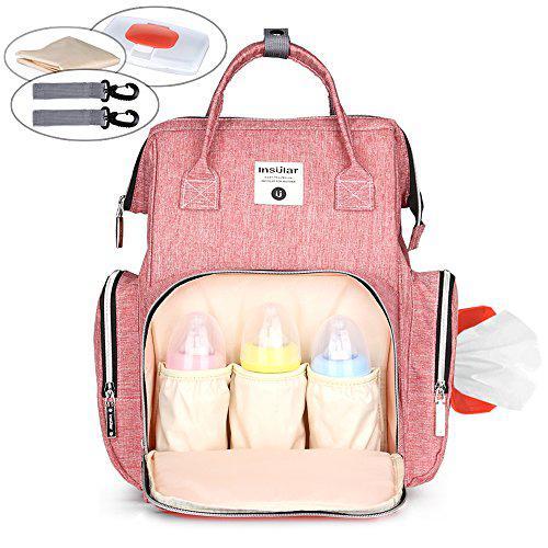 Vodico diaper baby bag backpack waterproof large capacity