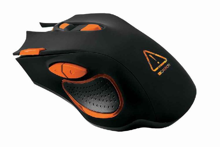 Canyon corax optical gaming mouse 7 button 6,500dpi 1.6m