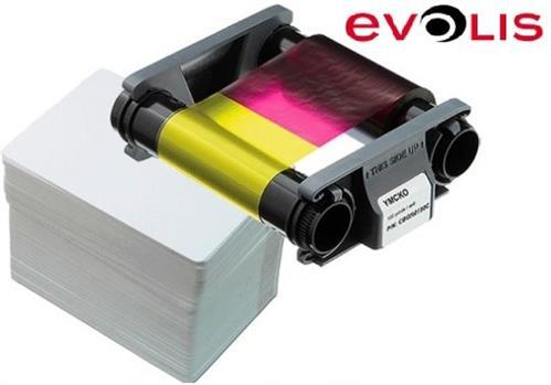 Evolis Consumable pack for 100 color prints