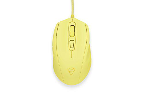 Mionix castor french fries optical gaming mouse (yellow)