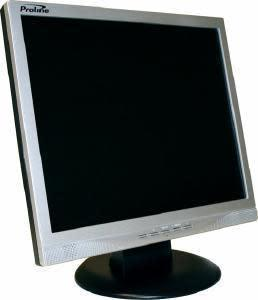 "Proline lcd screen (monitor)*17""*silver*adjustable tilt*"