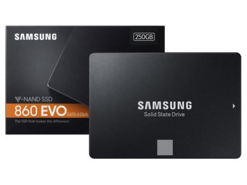 Samsung 860 evo 250gb solid state drive 2.5'' new unboxed