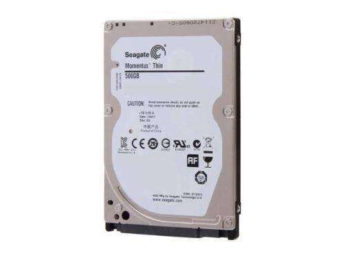 Seagate laptop thin 500gb 5400 rpm 16mb cache sata 6.0gb/s