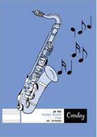 Croxley JD182 A4 Music Book (32 Pages)(10-Pack)
