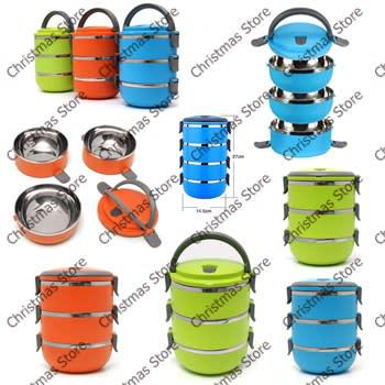 3 layer stainless steel thermal insulated lunch box