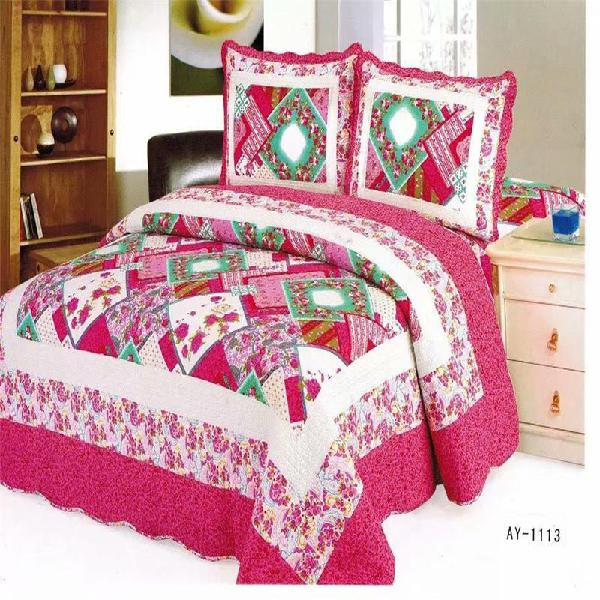 Famvotar 100% cotton bedding quilt set luxury bedroom