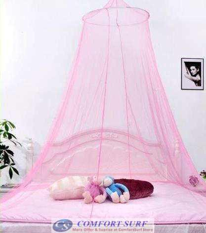 House bedding decor round bed canopy dome mosquito net for