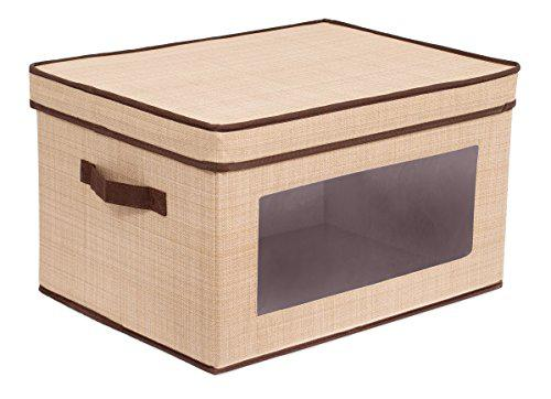 Internet's best storage box with window | durable storage