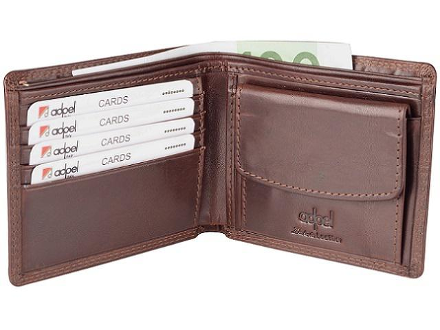 Wallet - Dakota leather - brown (9919)