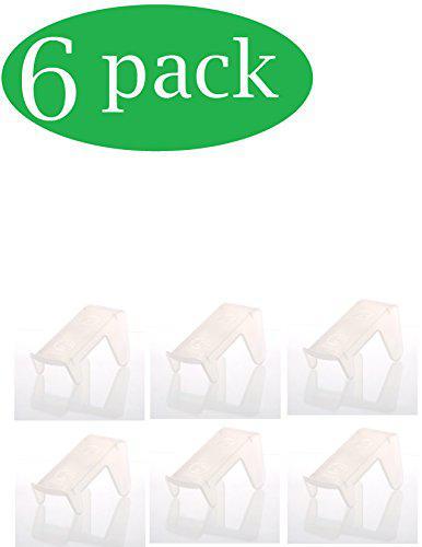 Ybm home ybmhome plastic double layer storage free standing