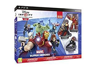 Disney infinity 2.0 marvel superheroes starter pack (ps3)