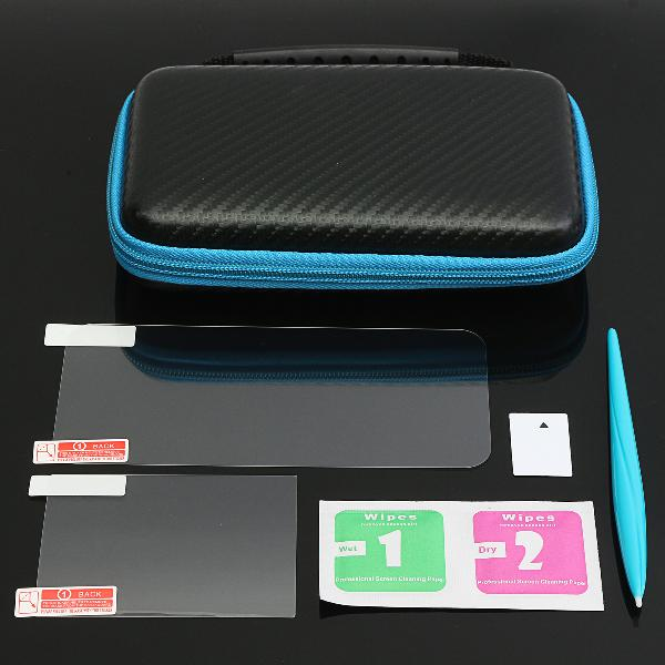 Eva carrying case bag screen protector stylus set for