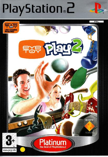 Eyetoy: play 2 - platinum (playstation 2)