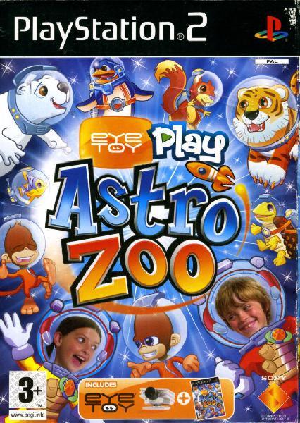Eyetoy: play astro zoo (playstation 2)