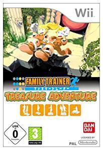 Family trainer: treasure adventure with mat (wii) (u)