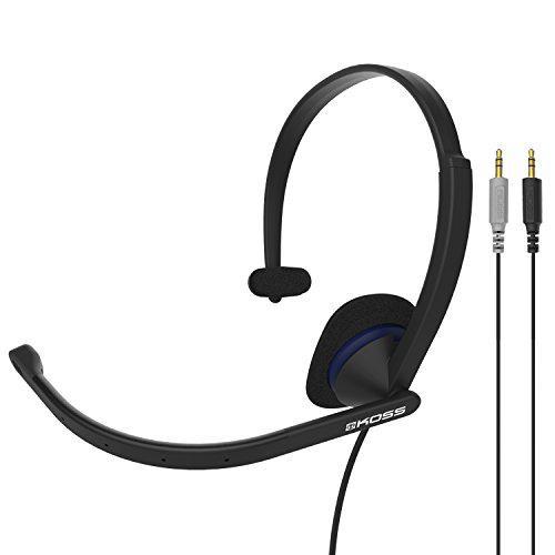 Koss cs195 communication headset headphones | single-sided |