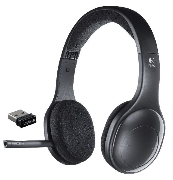 Logitech h800 wireless headset for pc, tablets and