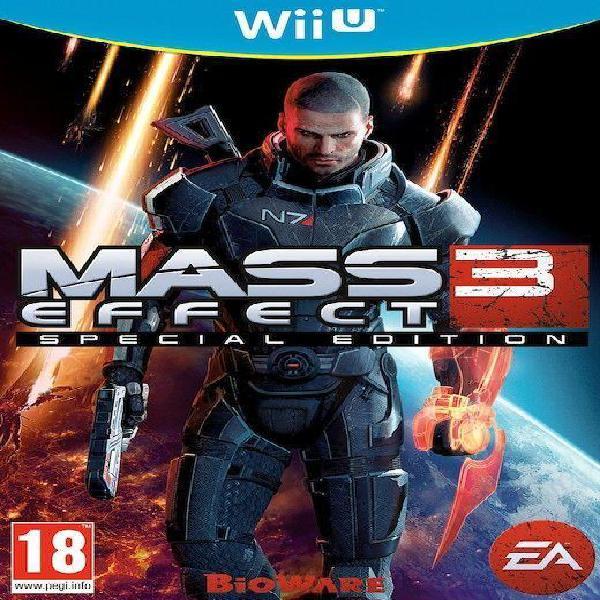 Mass effect 3: special edition (nintendo wii u)