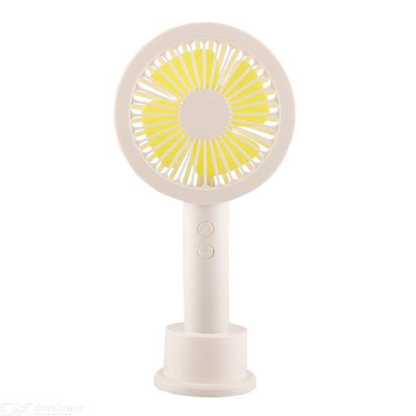 Mini handheld electric fan summer portable usb charging desk