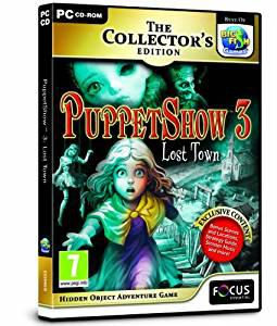 Puppetshow 3: lost town collectors edition (pc cd) (u)
