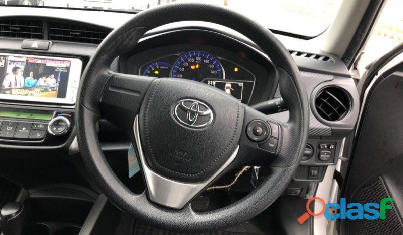 Toyota Corolla Fielder White 1