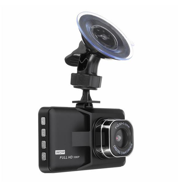 3.0inch hd 16:9 1080p car dvr video recorder camcorder dash