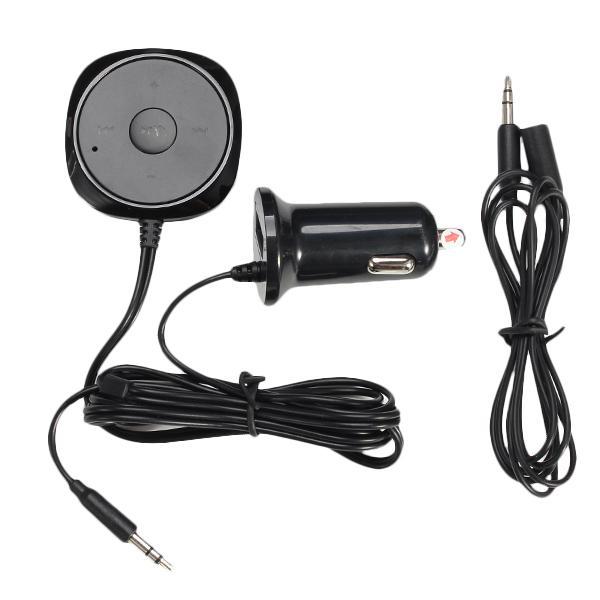Car kit bluetooth hand-free mp3 aux audio line usb bluetooth