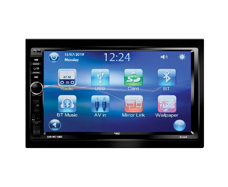 Energy audio avh-w710bt capacitive touch screen multimedia