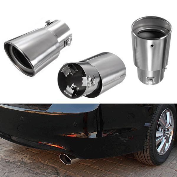 Stainless steel car exhaust drop down tailpipe diesel trim