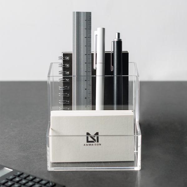 A&maison delicate desktop storage case clear acrylic