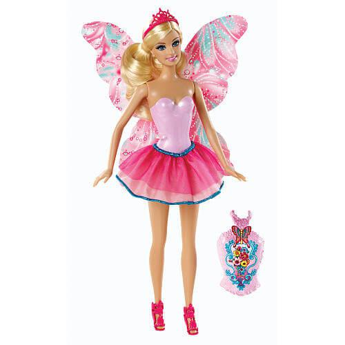 Barbie mix & match fairy pink