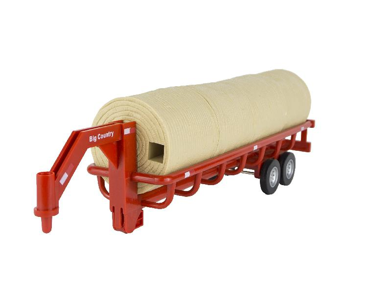Big country toys hay trailer - 1:20 scale - farm toys &