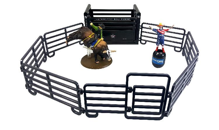 Big country toys pro bull riders rodeo set