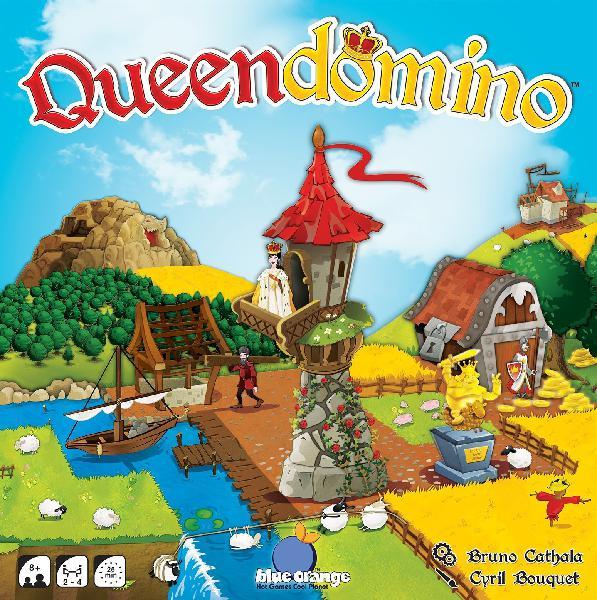 Blue orange queendomino game