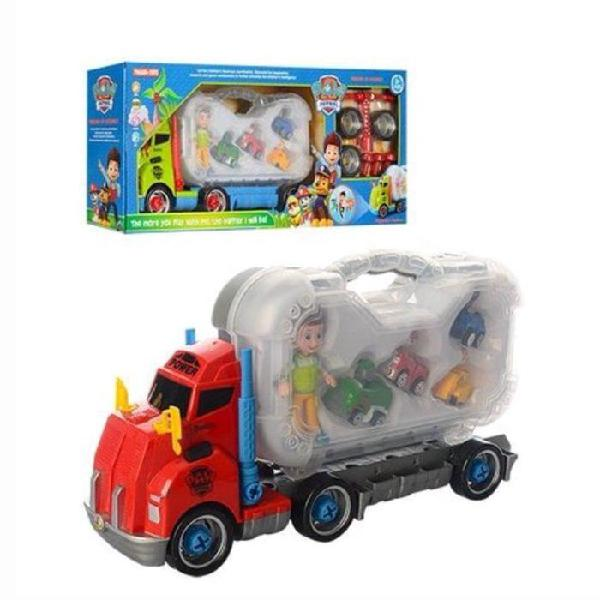 Character truck play set with accessories - paw patrol