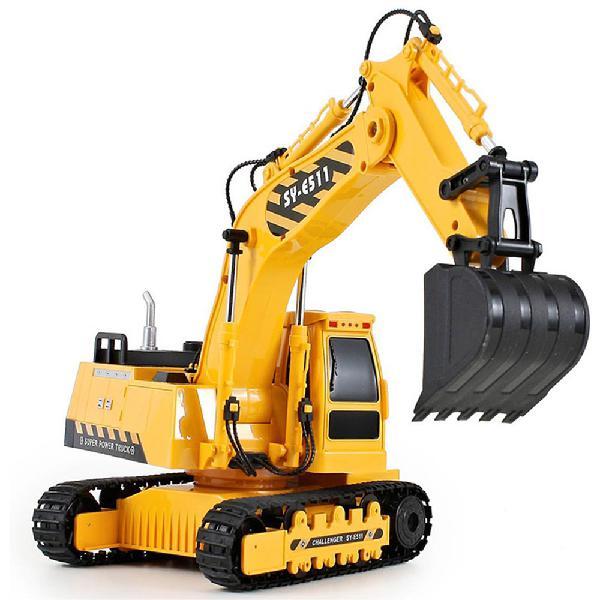 Double eagle e511-003 1/20 2.4g 8ch rc car excavator