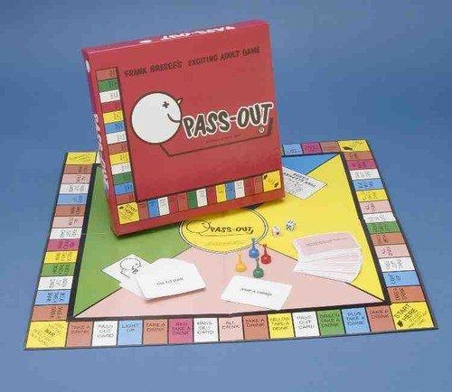 Forum Novelties Pass-Out Drinking Board Game